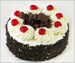 Eggless cakes 1 kg black forest cake